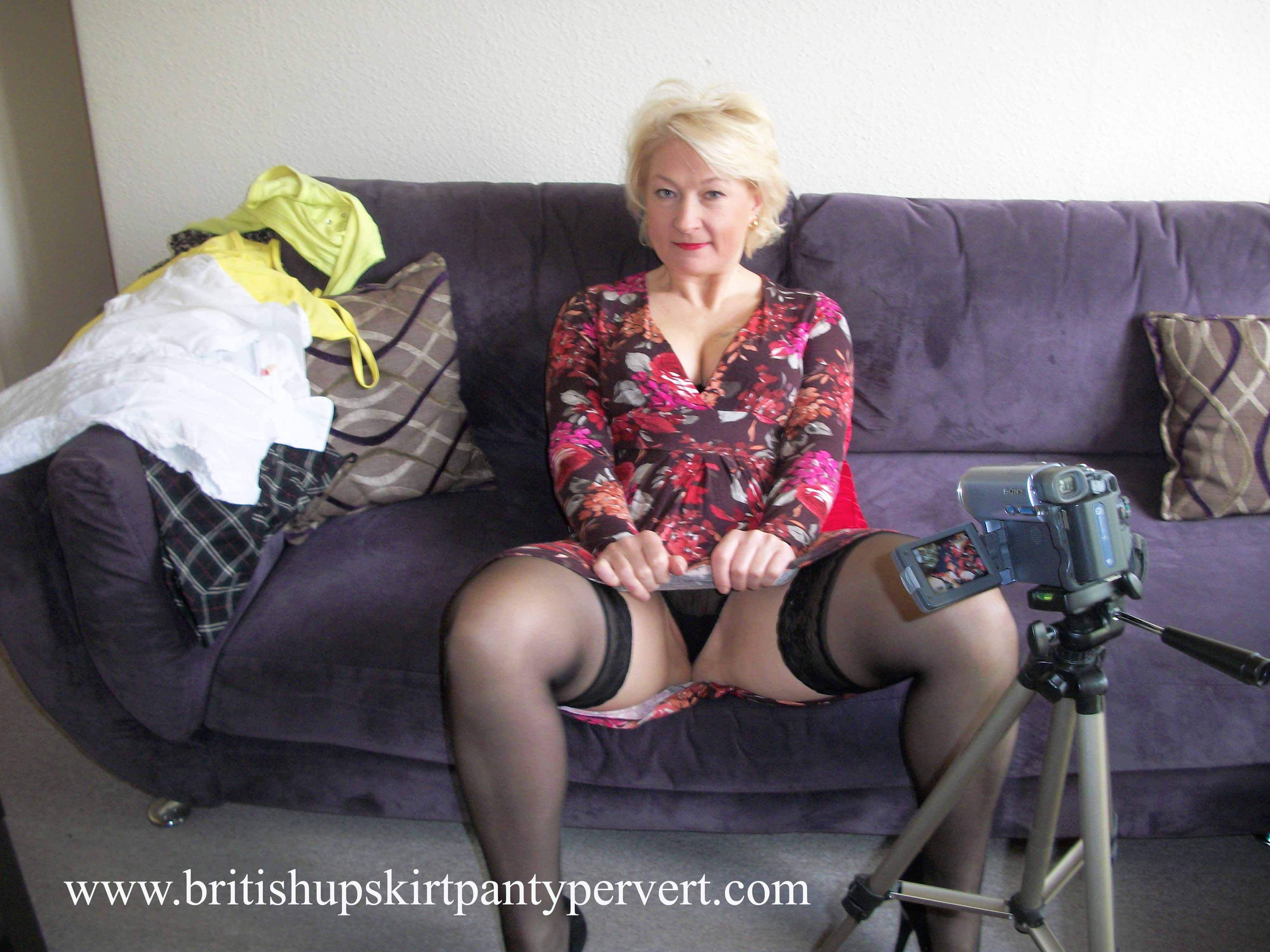 Upskirt British 120